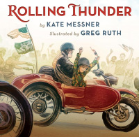 Cover of Rolling Thunder by Kate Messner