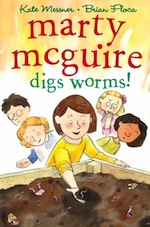 Cover of Marty McGuire digs worms!