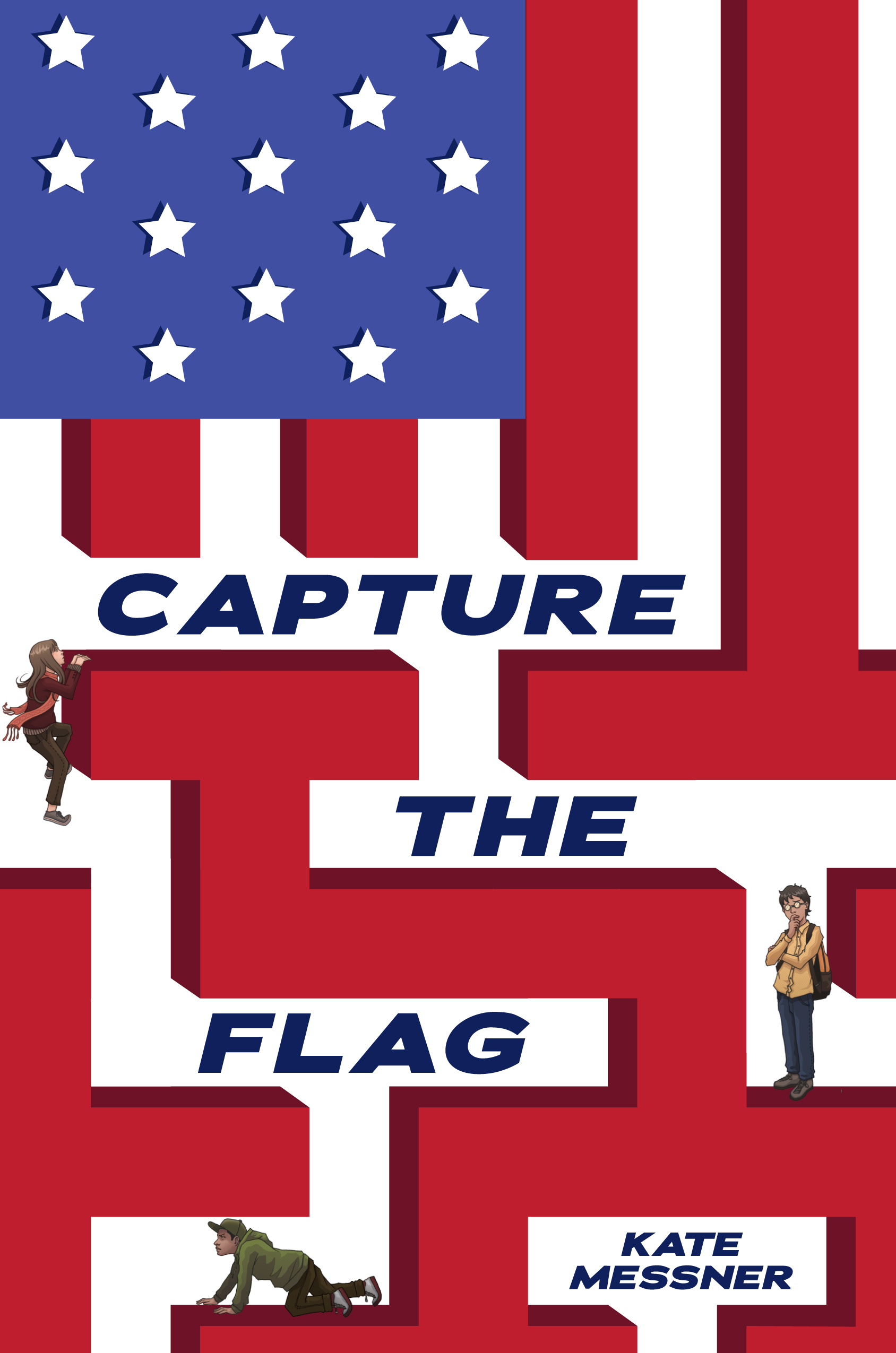 capture the flag by kate messner book cover