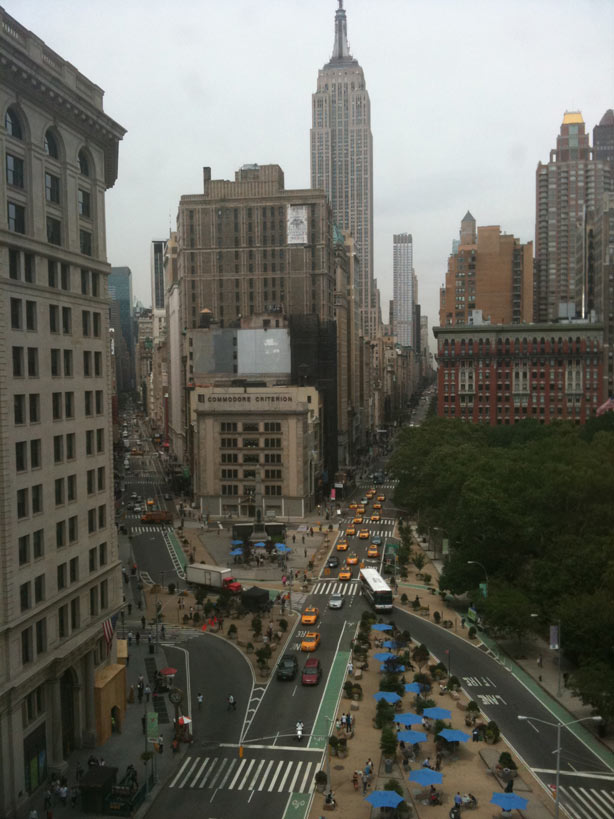 The view from New York City's historic Flatiron Building. I got a tour when I visited my Walker/Bloomsbury publishing team after THE BRILLIANT FALL OF GIANNA Z. won the E.B. White Read Aloud Award.