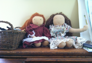 Two Friend Dolls