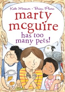 Cover of Marty McGuire Has Too Many Pets