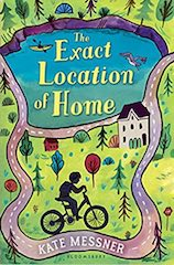 Cover of The Exact Location of Home by Kate Messner