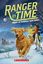 Ranger in Time - Night of Soldiers and Spies Cover